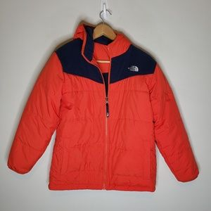 The North Face Reversible Puffer Fleece Jacket